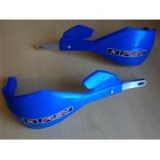 Protèges-mains intégraux X-FUN Shield 28.6 Bleu TM Racing (avec kit)