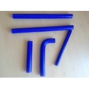 Kit durites silicones Bleu - TM Racing 2T 2001/2014