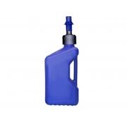 Bidon D'essence Tuff Jug 20L Bleu Translucide - Bouchon Remplissage Rapide