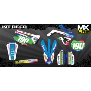 Kit Déco complet Tom Off Road 16' TM 2012 à 2014 (Personnalisable)