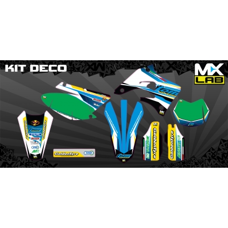 Kit Déco complet Tom Off Road 15' TM 2005 à 2012 (Personnalisable)
