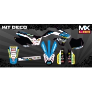 Kit Déco complet Team TM racing France - TM 2012 à 2014