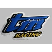 Ecusson TM Racing brodé à coudre 120 x 60