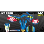 "Kit Déco Complet Tom Off Road Anniversaire ""10 Years"" 2012/2014"