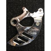 Protection de disque AR en aluminium taillé dans la masse TM Racing 2015 et +