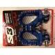Repose-pieds S3 Hard rock Enduro TM Bleu