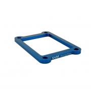 Cale de boite à clapet Alu Bleue TM 250/300 5mm